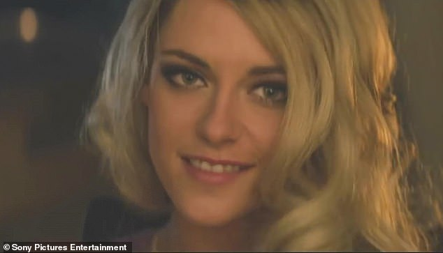 Disguised: At one point in the new trailer, Kristen is seen wearing a blonde wig