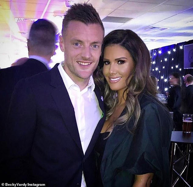 Social media fight: Rebekah Vardy has been accused by Coleen of leaking stories about her to the press and could end up in court