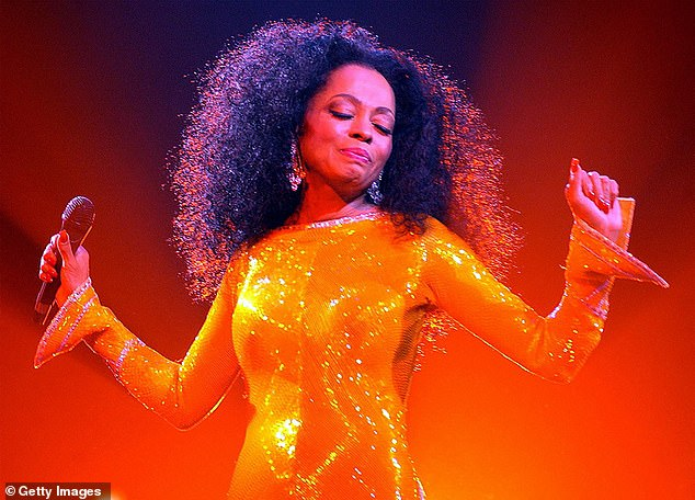 Legend: Diana Ross is preparing to take Galsto by storm next year