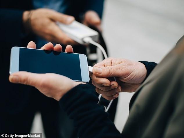 A Twitter thread on hotel room hacks has exploded with suggestions to take the hassle out of travelling, including wrapping dirty shoes in disposable shower caps and charging phones with the TV (stock image)