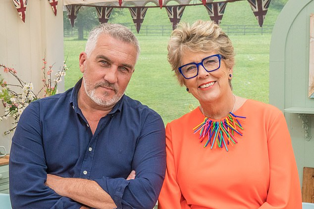 We have a fabulous selection of showstoppers from The Big Book Of Amazing Cakes, dreamed up by contestants past and present. Presenters Paul Hollywood and Prue Leith are pictured above