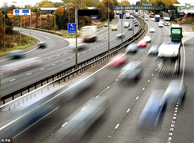 The volume of traffic on Britain's roads rose by 6.5 per cent in the last ten years which has contributed to the traffic jam-induced boredom
