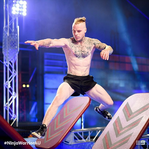 Swapping partying for the gym!In 2018, Corey returned to reality television on the second season of Australian Ninja Warrior, debuting his newfound buff physique