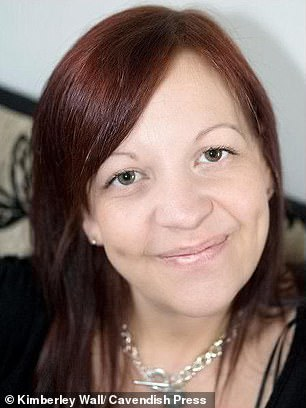 Kimberley Wall (pictured above) suffered complications from a gastric by-pass operation she had in 2008