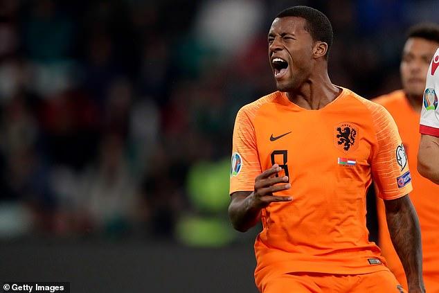 Georginio Wijnaldum admits Holland's recent absence from tournaments has been 'painful'
