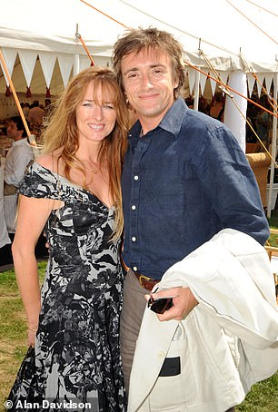 Richard Hammond and his wife Mindy (above) bought their castle near Ross-on-Wye, Herefordshire, for £2m in 2008