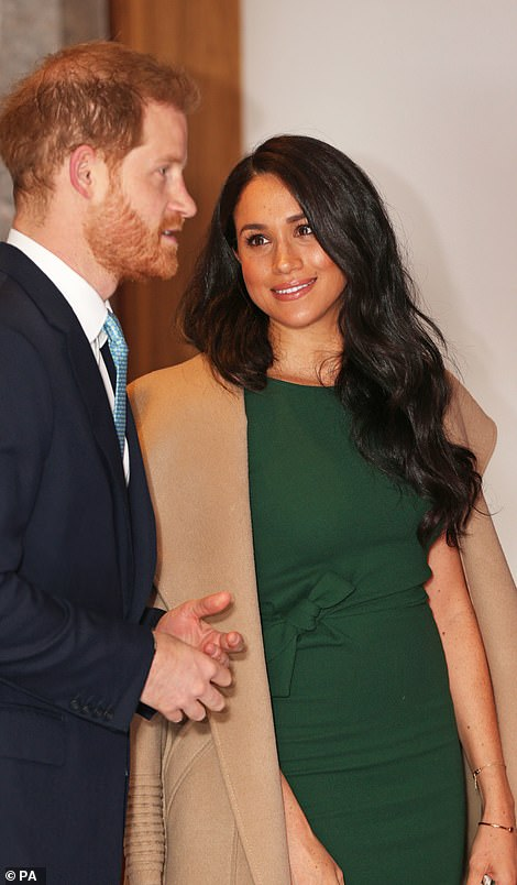 The Duke and Duchess of Sussex attend the WellChild awards in London