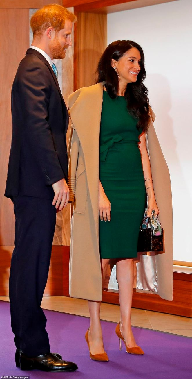 The royal couple will later attend the ceremony where The Duke will present the Award for Most Inspirational Child and deliver a speech