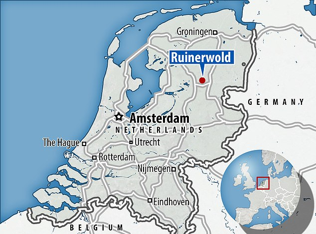 The house is located in Ruinerwold, around 60 miles north of Amsterdam, and it is thought the family moved there in 2010
