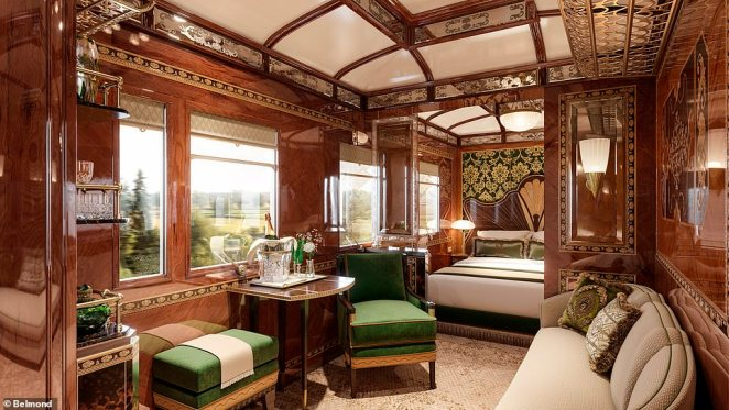 Happy days: The imperial nature of Vienna will be reflected in the Vienna suite's 'ornate and classical design' (pictured)