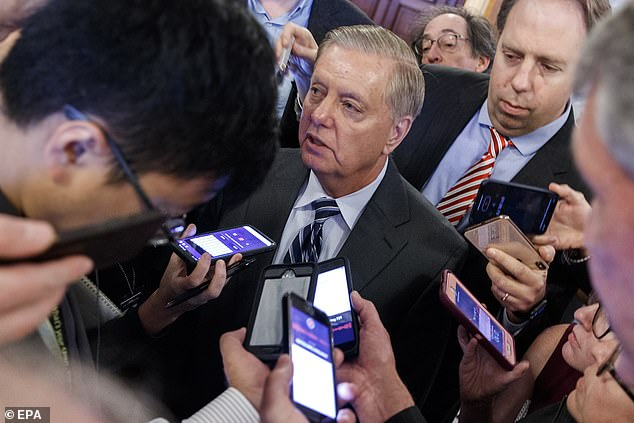 'I will do anything I can to help him, but I will also become President Trump's worst nightmare,' South Carolina Sen. Lindsey Graham said Wednesday