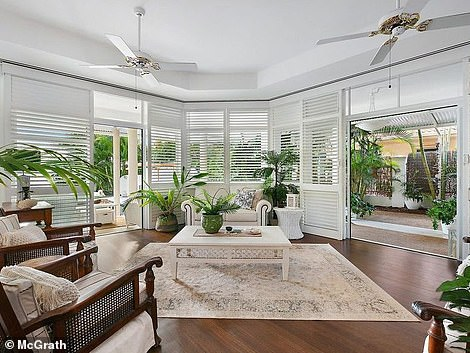 Nowadays, Kerrie said they can while away weekend days lazing in a hammock, as well as enjoy bush walks where they hardly run into another soul (interiors pictured after)