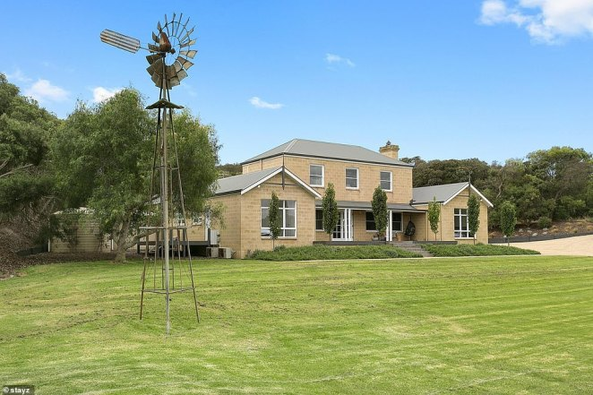 This magnificent 'coast-meets-county' home in Rye, Victoria is set on five acres and sleeps up to 24 in private luxury amongst the green rolling hills of the Mornington Peninsula