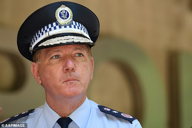 NSW Police Commissioner Mick Fuller (pictured) son has pleaded guilty to drink driving