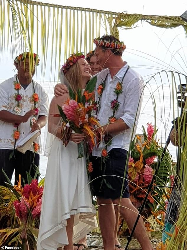 Bergeron and her husband were due to celebrate their first anniversary soon. They had plans to leave Yap to return to the US and start a family