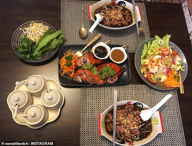 Northern Territory's Thai Thai (pictured) are loved by locals for their garlic and ginger rice, curry puffs and fish cakes
