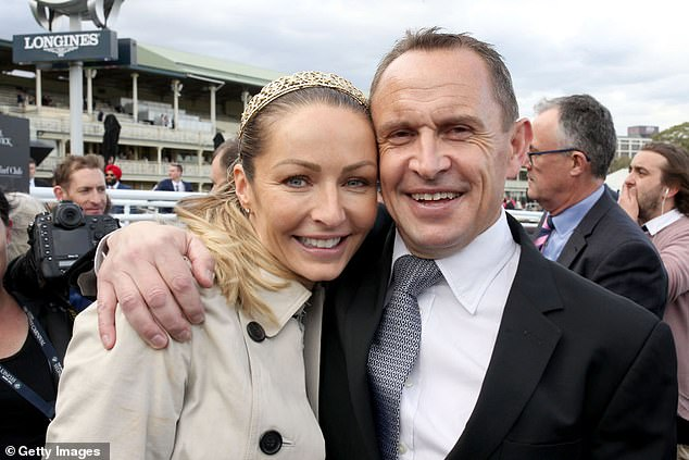 Trainer Chris Waller knew all about preparing top-line mares for big races after having prepared the mighty Winx throughout her career. Waller (pictured with wife Stephanie) has three runners in The Everest: favourite Arcadia Queen, Nature Strip and Yes Yes Yes.