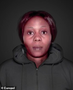 Pictured:Jessica Edosomwan who is sought by France on human trafficking charges