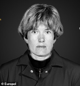 Pictured: Hilde Van Acker, 56, who is wanted by Belgium for murder