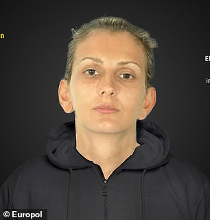 Pictured: Elena Puzyrevich, 39, who is wanted in Spain for human trafficking