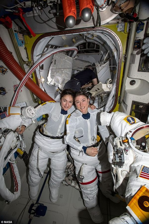 NASA makes history as two women complete FIRST EVER all ...