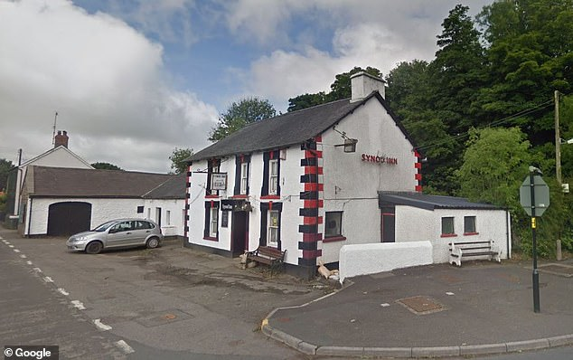 Swansea Crown Court heard that the pub also suffered extensive damage - but luckily was closed at the time