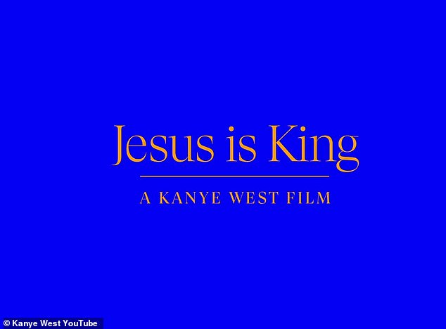 Coming soon:Kanye's new movie, slated for release in giant IMAX, is directed by Nick Knight, who helmed the artist's Blkkk Skkkn Head and Bound 2 music videos