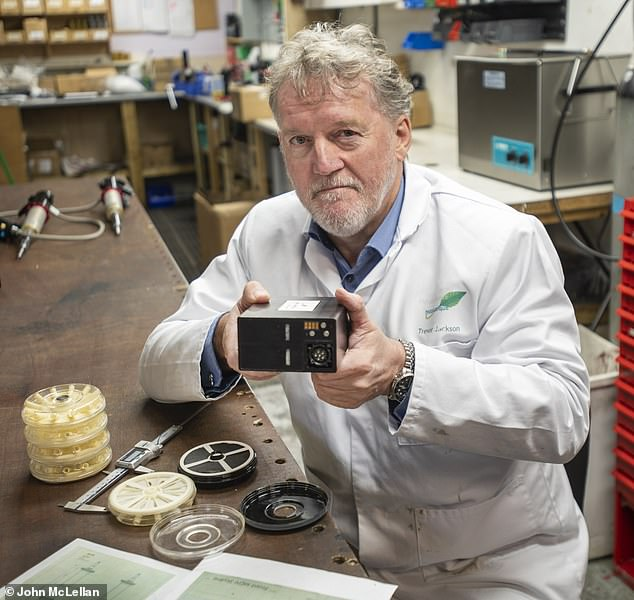 The father-of-eight battery inventor engineer, Trevor Jackson, 58 from Tavistock, Devon, who has signed a multi-million-pound deal to start manufacturing the device on a large scale in the UK