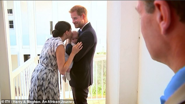 The break follows Harry and Meghan's ten-day tour of southern Africa, footage of which will be seen on ITV Sunday night in a documentary by broadcaster Tom Bradby