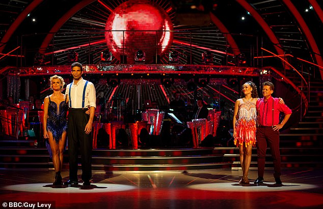 Head to head:Mike and Katya first found themselves in the bottom two in Week 5, butinstead former England footballer David James and his partner Nadiya Bychkova were eliminated