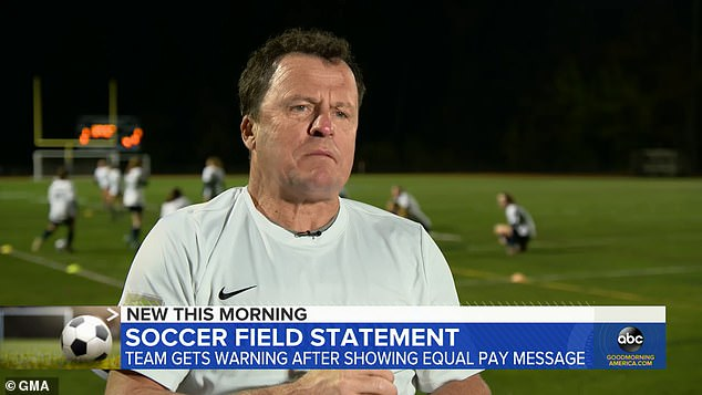 Their soccer coach told Good Morning America: 'The fans were just absolutely going crazy