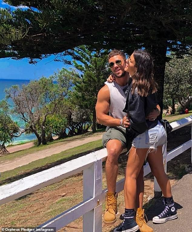 New couple alert! Home and Away actor Orpheus Pledger has gone public with his girlfriend, Instagram modelBella Rogers