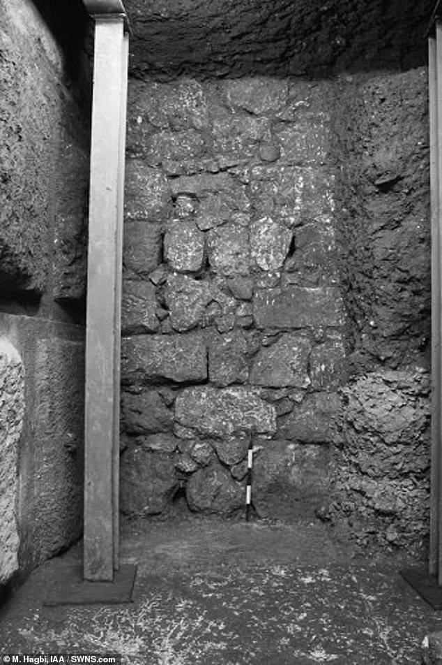 The ancient walkway linking the Temple Mount with the Pool of Siloam was first discovered in 1894 by British archaeologists in Jerusalem's 'City of David'