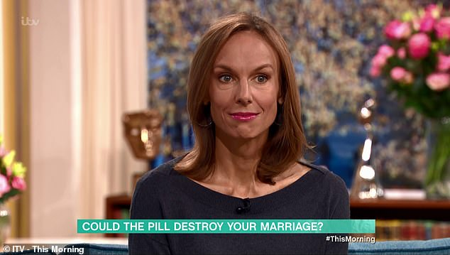 Speaking about ditching the pill, Sarah revealed that after a decade taking the pill she was stunned to discover that she felt 'more vibrant' and 'in tune with her femininity' than ever before