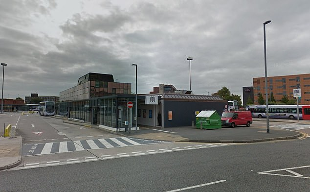 The mugging happened as Mr Jackson lay dying at Bury Interchange tram stop in August