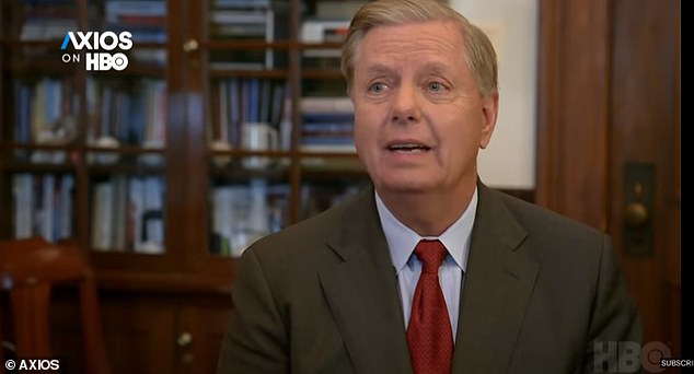 Lindsey Graham said in a recent interview that Trump is a 'handful' and an 'equal opportunity abuser'