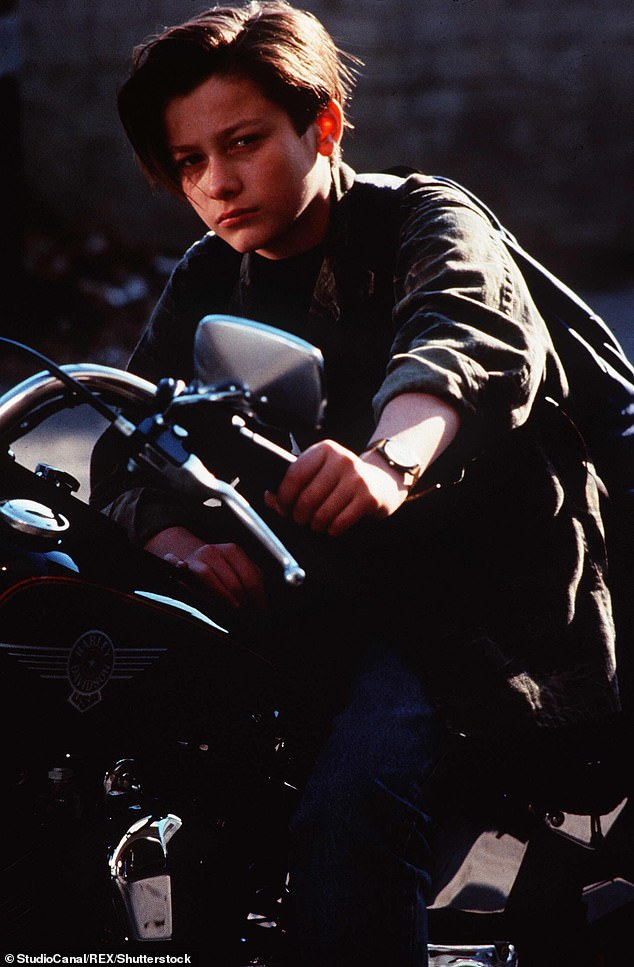 John Connor: Edward Furlong is set to reprise his role as the future leader of the resistance in the new film