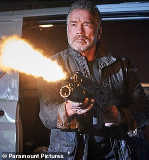 Explosive: In the film Arnold plays an aging Terminator, one of several sent back in time to kill John Connor in the past, who now lives in human society