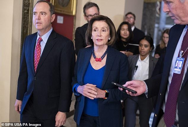 Adam Schiff enjoys strong support from Speaker Nancy Pelosi