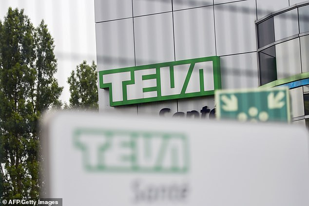 Israeli opioid-maker Teva's office in Sens, south of Paris, is pictured. The company joined three others in a settlement over the opioid addiction epidemic in the US, avoiding a federal trial that was to start on Monday