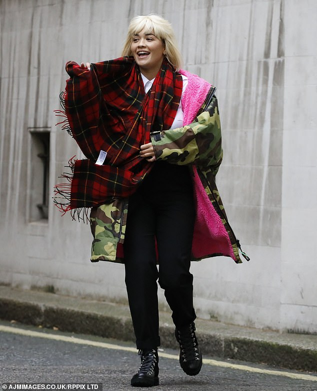 Star-studded cast: With Rita cast as the Artful Dodger, comedian David Walliams, 48, will play Losberne and Sir Michael Caine, 86, takes on the iconic role of Fagin