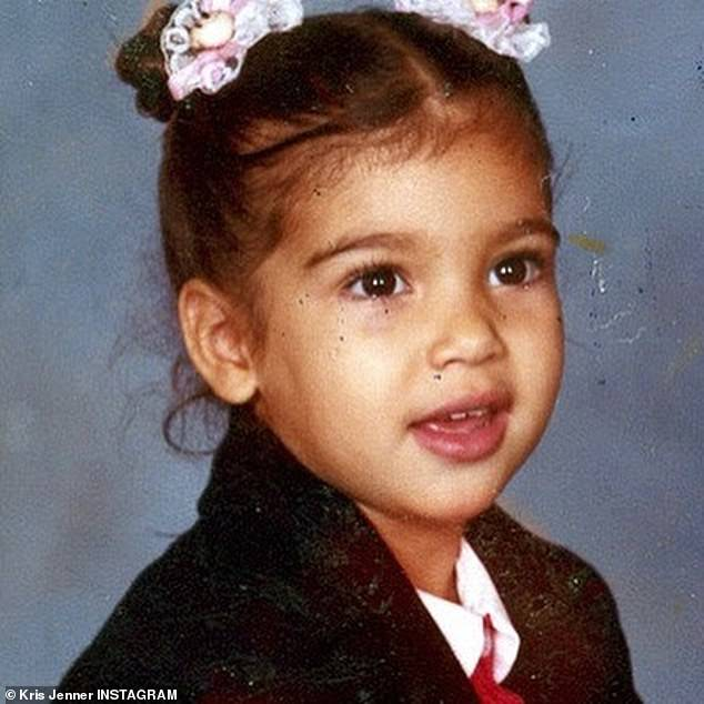 Baby KK:Momager Jenner was the first as she shared several adorable photos of Mrs Kanye West on Instagram