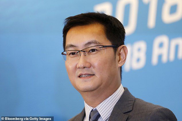 The second wealthiest person in China isMa Huateng (pictured above), founder of internet services provider Tencent. He has a net worth of about $32.8 billion