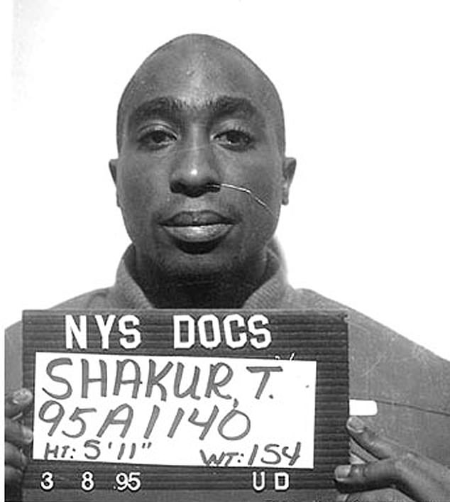 He shares the same name - including middle initial - as the rap legend who was shot dead in 1996 at the age of 25