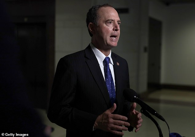 Trump insulted House Intelligence chair Rep. Adam Schiff, calling him 'shifty Schiff' and accusing him of corruption