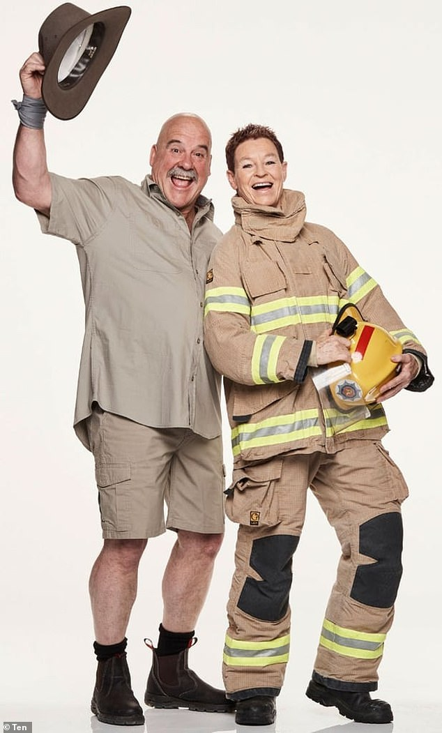 Daring duo!South Australian farmer Chris, 58, and his firefighter partner Adrienne, 59 are ready for the challenge