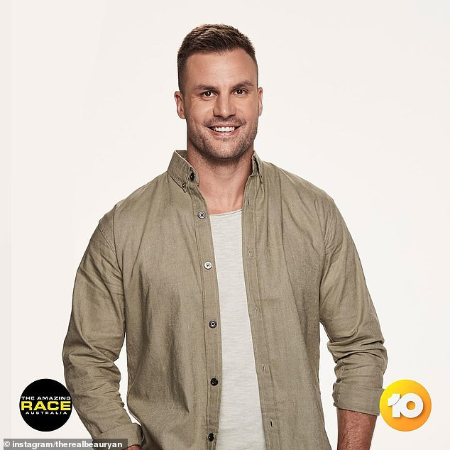 It's back!Beau Ryan (pictured), 34, is taking over the helm from Grant Bowler as host of The Amazing Race Australia