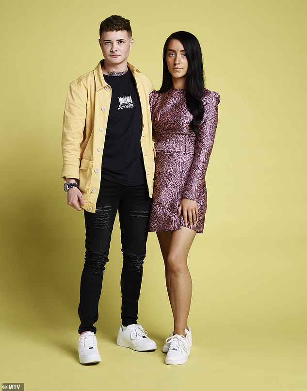 Modern: The Glaswegian couple met in the toilets at a club in Glasgow and became best friends. Since then, Charlie has transitioned from female to male