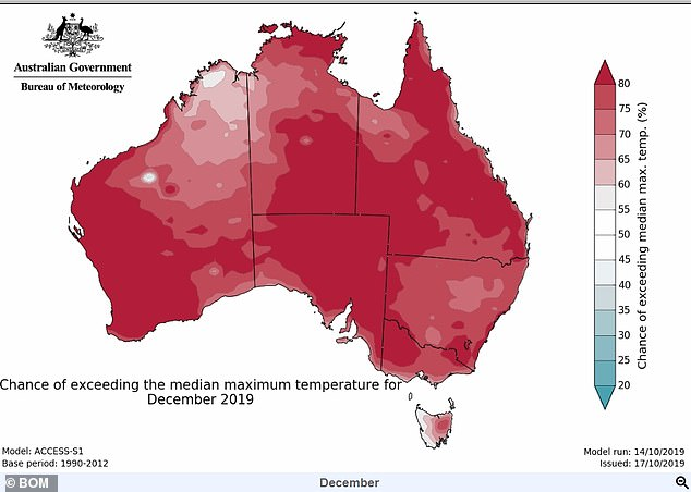 The Bureau of Meteorology is expecting the drought to worsen this summer, from Sydney to southern Queensland and from the outback centre to Perth