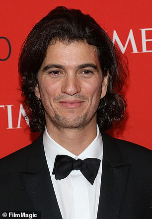 Neumann's exit from the board of WeWork's parent company, The We Company, would represent a dramatic fall from grace, given Wall Street's expectations earlier this year that he would lead one of corporate America's most hotly anticipated stock market debuts. Neumann is pictured at the 2018 Time 100 Gala